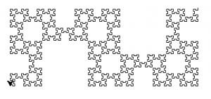 dessin de la fractale
