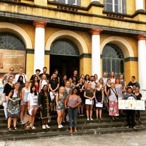 Gruppenfoto mit den Teilnehmern des Tübingen-Projekts