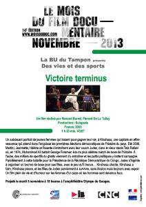 Affiche Victoire terminus