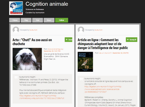 Cognition et animaux