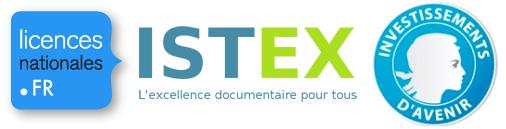 Licencesnationales.fr / Istex / IDEX