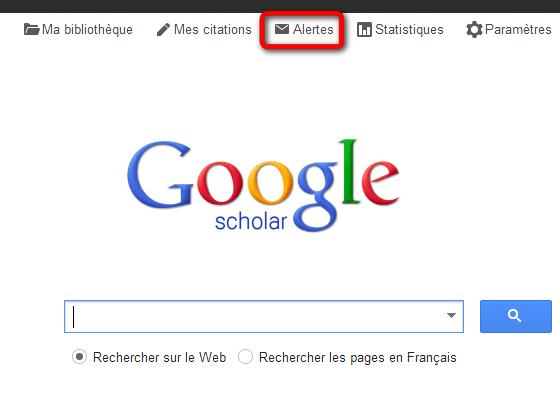 GoogleScholar_Alerte_Gerer