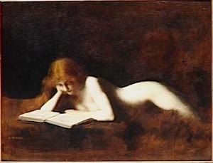 Illustration : La liseuse ou Marie-Madeleine lisant (Jean-Jacques Henner, 1829-1905) Licence Public Domain : CC-PD-Mark