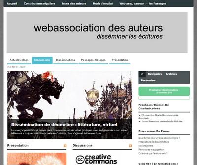 Disséminer les écritures, par la Web Association des Auteurs