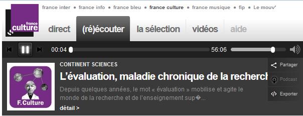 2015-06-05_FranceCulture_Evaluation
