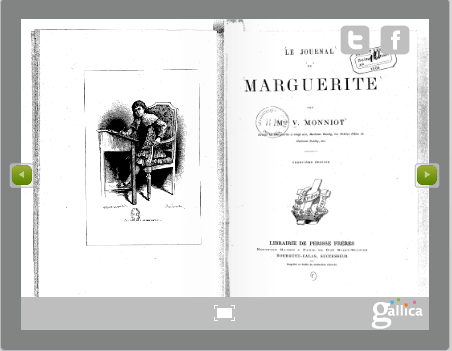 Journal de Marguerite (via Gallica)