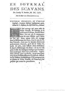 Journal des sçavans sur gallica.bnf.fr